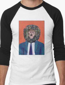 Mr. Lion's portrait Men's Baseball ¾ T-Shirt