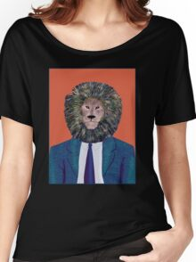 Mr. Lion's portrait Women's Relaxed Fit T-Shirt