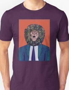 Mr. Lion's portrait Unisex T-Shirt