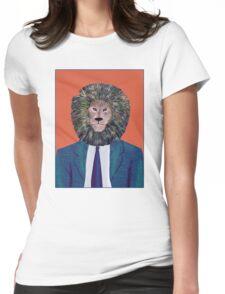 Mr. Lion's portrait Womens Fitted T-Shirt