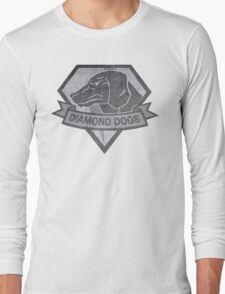 Diamond Dogs Shirt Long Sleeve T-Shirt