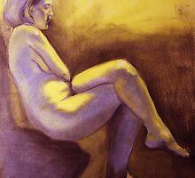 Seated Woman by Zack Nichols