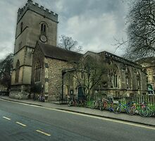 The Church of St. Mary Magdalen Oxford by John Hare