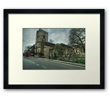 The Church of St. Mary Magdalen Oxford Framed Print