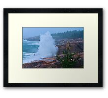 Big Splash Cape Breton Framed Print