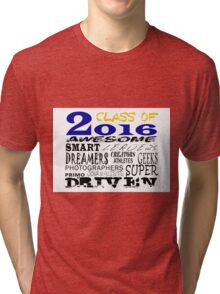 Class of 2016 Traits - Blue/Gold Tri-blend T-Shirt