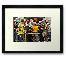 The winners Framed Print