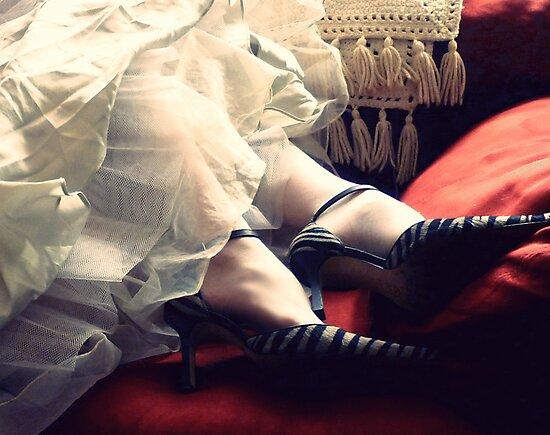Mrs. Havisham's Zebra Heels by Margaret Bryant