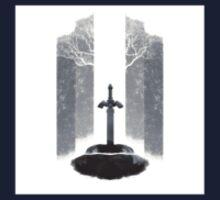 Zelda's Master Sword Ideal Stickers or Phone Case Kids Tee