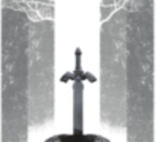 Zelda's Master Sword Ideal Stickers or Phone Case Sticker