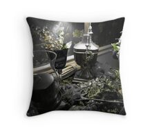 Colorized Table Throw Pillow