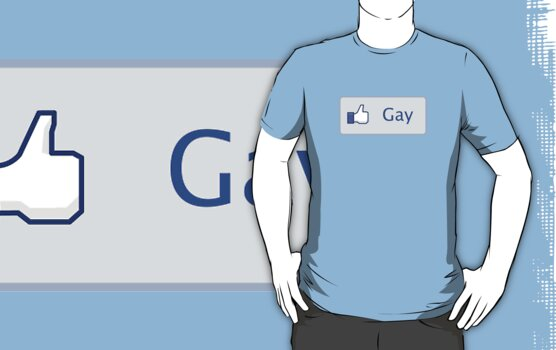 Gay - Facebook - Like Button by wcsmack