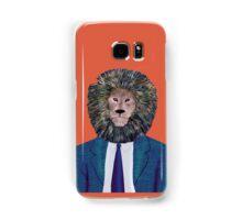 Mr. Lion's portrait Samsung Galaxy Case/Skin