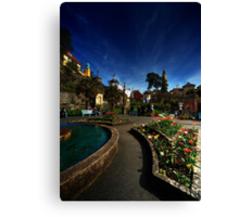 Portmeirion on a Spring day Canvas Print