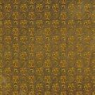 Brown Grunge with Gold Glitter Pattern by Cherie Balowski