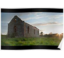 Tillmouth Church Ruins, Northumberland Poster