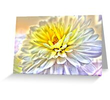 Two Tone Mum Greeting Card