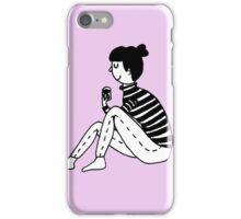 Coffee girl iPhone Case/Skin