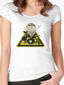Dangerous drummer 2 Women's Fitted Scoop T-Shirt
