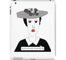 No-one must know.. iPad Case/Skin