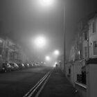 Foggy Brighton Night by Ms-Bexy