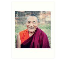Venerable Khenchen Palden Sherab Rinpoche  Art Print