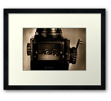 Tabletop of Broken Dreams Framed Print