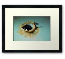 Drip and Splash 9 Framed Print