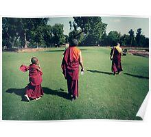 Pema, Venerable Khenchen Palden Sherab Rinpoche and Venerable Khenpo Tsewang Dongyal Rinpoche Poster
