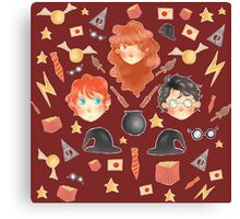 Harry Potter World Canvas Print