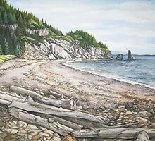 Cape Breton Seascape by sunitha84