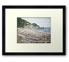 Cape Breton Seascape Framed Print