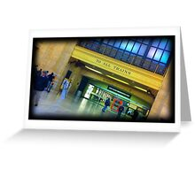 To All Trains! Greeting Card