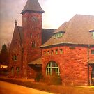 Train Station, Niles Michigan by APhillips
