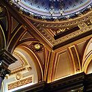 Ceiling, Fitzwilliam Museum, Cambridge by artfulvistas