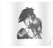 Joe Yabuki - Ashita No Joe Poster