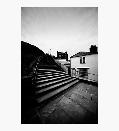 Whitby Steps Photographic Print