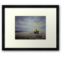 Wheal Coates, St Agnes, Cornwall, England Framed Print