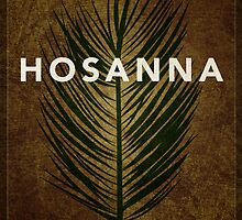 Word: Crucifixion (Hosanna) by Jim LePage