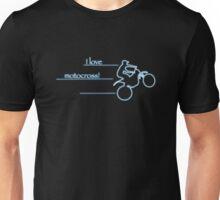 I love motocross t-shirt 1 (neon logo) Unisex T-Shirt
