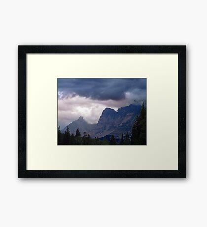 Ramparts- Mt. Fitzwilliam Framed Print
