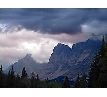 Ramparts- Mt. Fitzwilliam Photographic Print