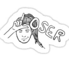 Loser Sticker