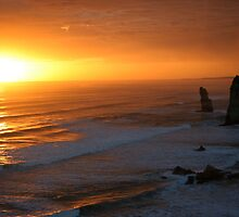 12 Apostles Sunset by daffymjb