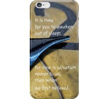 Salvation Is Near iPhone Case/Skin