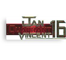 Jan Quadrant Vincent 16 Canvas Print
