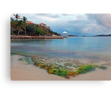 Secret Harbor Canvas Print