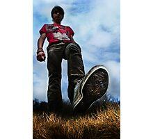 I am Big Photographic Print