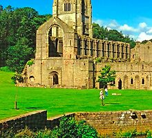 Fountains Abbey 11 by Priscilla Turner