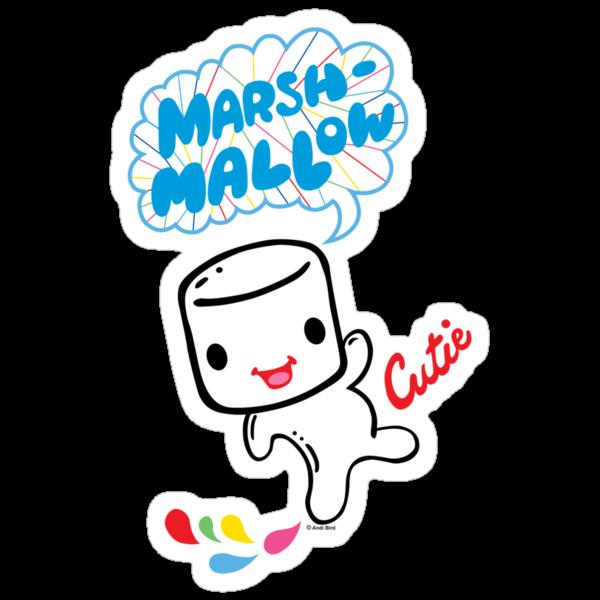 Marshmallow Cutie by Andi Bird